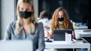 Mindful Breathing While Wearing a Face Covering
