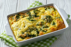 Healthy Veggie Breakfast Casserole