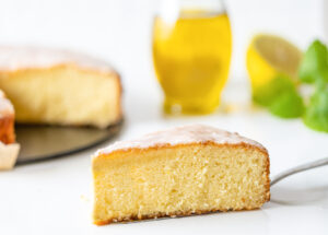 Naked Lemon Olive Oil Cake